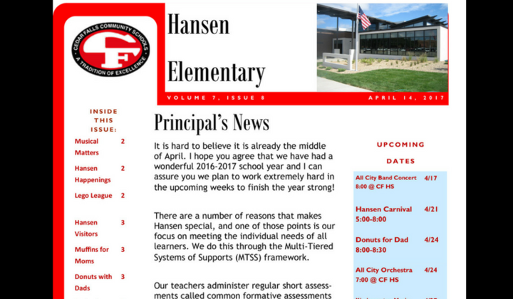 Hansen+april+newsletter