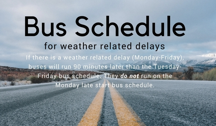 Bus+schedule+weather+related